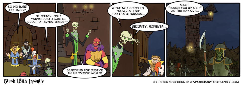 Security Is Tough…
